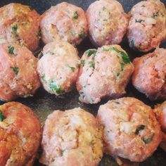 Cliff notes version: It's all about the cheese. There's a little meatball mania going on around my home. My kids love to eat them. I love the fact that the leftovers make a great lunch for their next day school lunches. This recipe that I'm sharing below are our current favorites…simply because I haven't used...