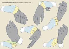 Manga Drawing Tips 手のイラスト資料集 -Hand Reference Hand Drawing Reference, Drawing Reference Poses, Anatomy Reference, Human Figure Drawing, Drawing Practice, Poses References, Anatomy Drawing, Manga Drawing, Art Poses