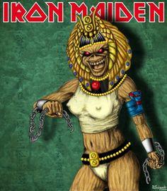 iron maiden eddie | la novia de eddie (iron maiden) - Taringa!