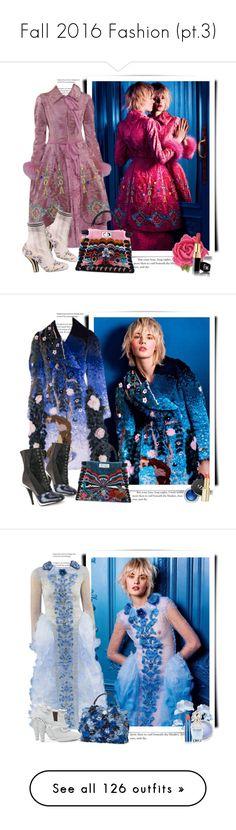 """Fall 2016 Fashion (pt.3)"" by sella103 ❤ liked on Polyvore featuring Fendi, Tarina Tarantino, Chanel, hautecouture, L'Oréal Paris, MAC Cosmetics, Lipstick Queen, Marc Jacobs, Christian Dior and Elizabeth Arden"