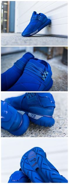 #Adidas Y-3 Qasa Hi: #Blue