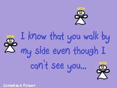 Walk beside me...