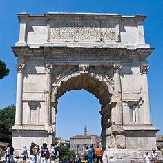 Arco di Tito  Foro romano , Roma