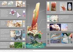 The Croods visual development artwork by Margaret Wuller