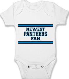 Baby Onesie Carolina Panthers Fan Custom Bodysuit by babyprintCA Baby  Onesie 69ea5c297