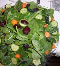 The Rawtarian Community Recipe: salad mountain