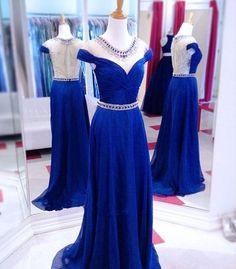 High Quality Prom Dress,O-Neck Prom Dress,A-Line Prom Dress,Beading Evening Dress P630