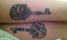 1000 images about tattoos on pinterest star tattoos for for Matching husband and wife tattoos
