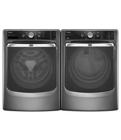 Maytag Maxima XL Front Load Steam Washer and Steam Dryer SET (Electric Dryer) in Graphite * This is an Amazon Affiliate link. Learn more by visiting the image link.
