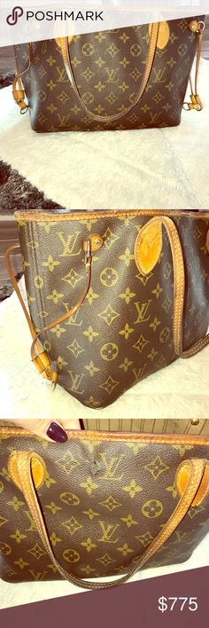 Louis Vuitton Never Full gorgeous bag! Org. Script My very first Louis Vuitton articles de voyage 101 champs Elysees Paris! A few minor wear and tear hiccups but overall really great condition. The bottom isn't pictured but there are a few pieces that have knicks- if you want to see message me. One side of the canvas has a minor tear in canvas I took it to be colored in and patched (you can see in pic) also one strap needs to be sewed (also pic) but really great bag I've loved for so long…
