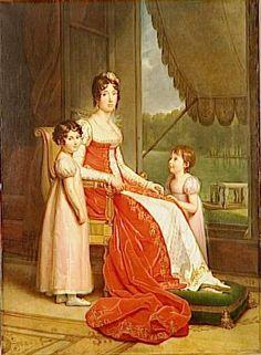 1808-1809 Julie Clary Bonaparte by François Gérard (National Gallery of Ireland, Dublin)