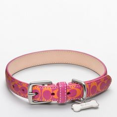 The Signature C Printed Leather Collar from Coach love it