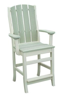 Amish Poly Talieson Pub Chair Ready for fun outside, the Talieson comes in counter or bar height. Choice of color and option to add cushions. American made with recycled plastic. #poly Pub Chairs, Outdoor Dining Furniture, Amish Furniture, Refreshing Drinks, Furniture Collection, Counter, Cushions, Plastic, Bar