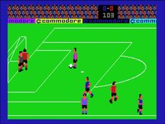 International Soccer (Commodore 64) - big seller for the system!