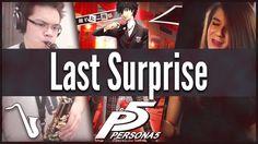 Persona 5: Last Surprise - Jazz Cover || insaneintherainmusic (feat. Adr...