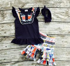 Aztec Print Two Piece Set with Headband