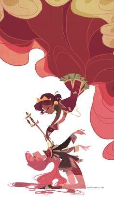 The Art Of Animation, Ann Marcellino - Revolutionary Girl Utena Comics Illustration, Illustrations, Revolutionary Girl Utena, Drawn Art, Animation, Pretty Art, Character Design Inspiration, Art Inspo, Amazing Art