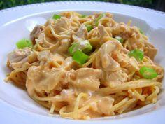 Buffalo Chicken Spaghetti | Plain Chicken