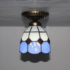 Grid Tiffany Lamp6S9-1BC1