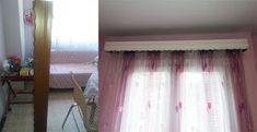 Natassa's blog tips: Αλλαγή κουρτινόξυλου στο παιδικό δωμάτιο Blog Tips, Curtains, Home Decor, Blinds, Decoration Home, Room Decor, Draping, Home Interior Design, Picture Window Treatments