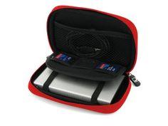 Cool Bananas ShockProof 2.5 inch Case for External Hard Disk - Red