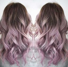 Image result for light brown to pastel ombre