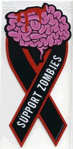 Support Zombies Magnet