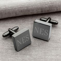 It's hip to be square! Our Personalized Gunmetal Square Cufflinks boast a sl… It's hip to be square! Our Personalized Gunmetal Square Cufflinks boast a sleek design that will have your groomsmen looking sharp on the wedding day. Groomsmen Gifts Unique, Groomsman Gifts, T Shirt Designs, Father Gift, Tshirt Adidas, T Shirt Hipster, Groomsmen Cufflinks, Personalised Gifts For Him, Personalized Products
