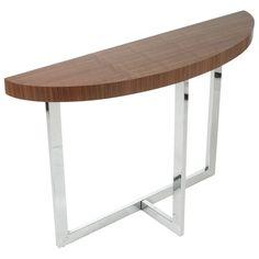 Oliver Half Oval Console Table #dcgstores #livingroomfurniture - Sale $340.00