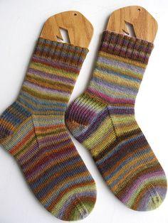 Woodstock Handspun Socks - great colours!!