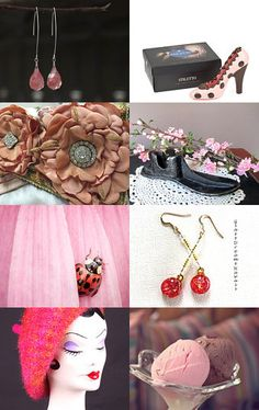 Gifts for Girls Who Like Pink by Margie Sarrao on Etsy--Pinned with TreasuryPin.com