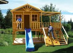 cubby house plans bunnings - Google Search