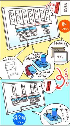 両面マグネットで作る「朝のお支度チャート」の効果がやっぱりすごかった! ~男の子育児!第三十六回~の画像4