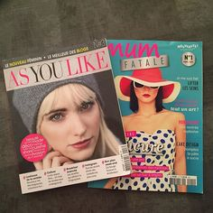 Nouvelles lectures... #themouse #lecture #magazine #asyoulike #mumfatale http://themouse.org
