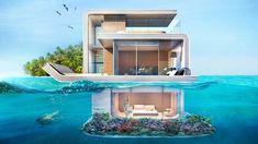 Au total 42 logements de ce type doivent être livrés d'ici à 2018. L'un des trois niveaux de l'ensemble sera totalement immergé.