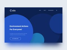 Environment Web Design by Dannniel - Dribbble You are in the right place about Web Design wordpress Interaktives Design, App Ui Design, Layout Design, Branding Design, Web Design Examples, Web Design Tips, Best Website Design, Webdesign Layouts, Webdesign Inspiration