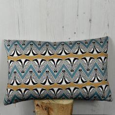 Deco Badger Pattern Cushion