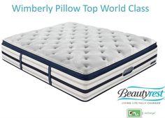simmons beautyrest mattresses recharge world class alexandria luxury firm full - Simmons Beautyrest World Class