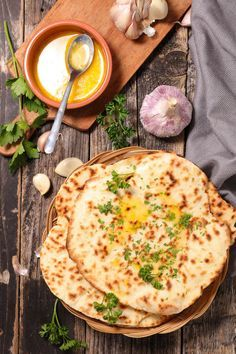 Rezept: indisches Naan-Brot selber machen