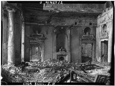 Pfeilersaal in der ersten Etage des Berliner Stadtschlosses, 27. Oktober 1948 © Fritz Tiedemann
