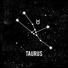 Taurus stars and symbol.