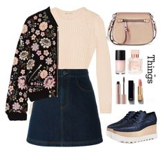 """""""Untitled #494"""" by jovana-p-com ❤ liked on Polyvore featuring Autumn Cashmere, Givenchy, Needle & Thread, Marc Jacobs, STELLA McCARTNEY, Maison Francis Kurkdjian and Chanel"""