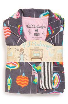 PJ Salvage Print Flannel Pajamas Flannel Pajamas, Kids Pajamas, Pajamas Women, Pyjamas, Clothing Packaging, Holiday Pajamas, Night Suit, Nightgowns For Women, Nighty Night