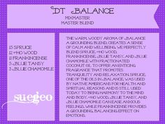DoTerra Balance copycat recipe