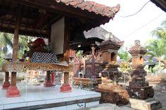 Lugar sagrado en una casa de Bali