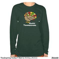 Thanksgiving Turkey T Shirt