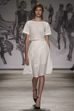 Lela Rose Ready To Wear Spring Summer 2015 New York - NOWFASHION