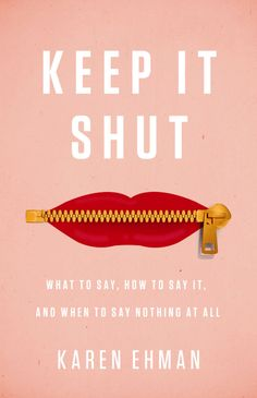 Mouth ever gotten you in a tangled up mess? Maybe its time to adopt a new rule of tongue. Pre-Order KEEP IT SHUT & get FREE STUFF!!!