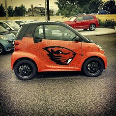 OSU Beaver Car!... Now this is a smart car!