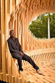 David Adjaye. In 1993, the same year of graduation, Adjaye won the RIBA Bronze Medal, a prize offered for RIBA Part 1 projects, normally won by students who have only completed a bachelors degree. Previously a unit tutor at the Architectural Association, he was also a lecturer at the Royal College of Art. http://www.pinterest.com/search/pins/?q=David%20Adjaye%20architects